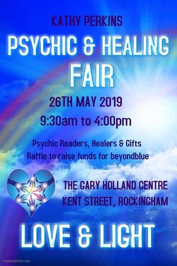 Kathy Perkins – Psychic and Healing Fair – May 2019